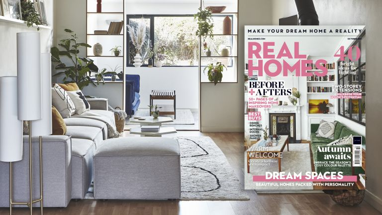 Real Homes magazine October issue banner