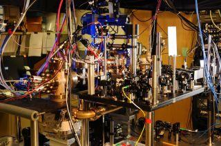 ytterbium atomic clock setup