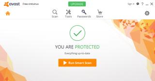 avast smart scan stuck at 80