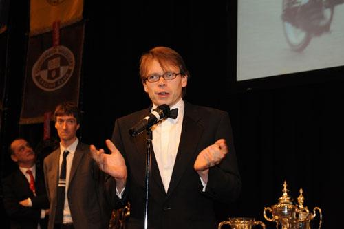 Michael Hutchinson, champion of champions, CTT Champions' Night 2010