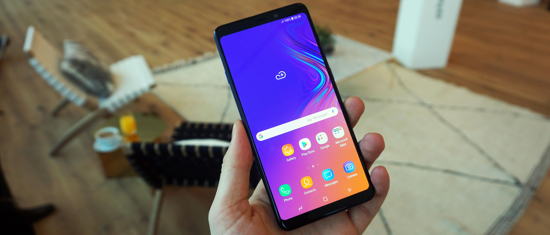 Hands on: Samsung Galaxy A9 (2018) review | TechRadar