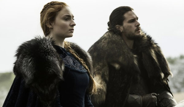 sansa stark and jon snow targaryen