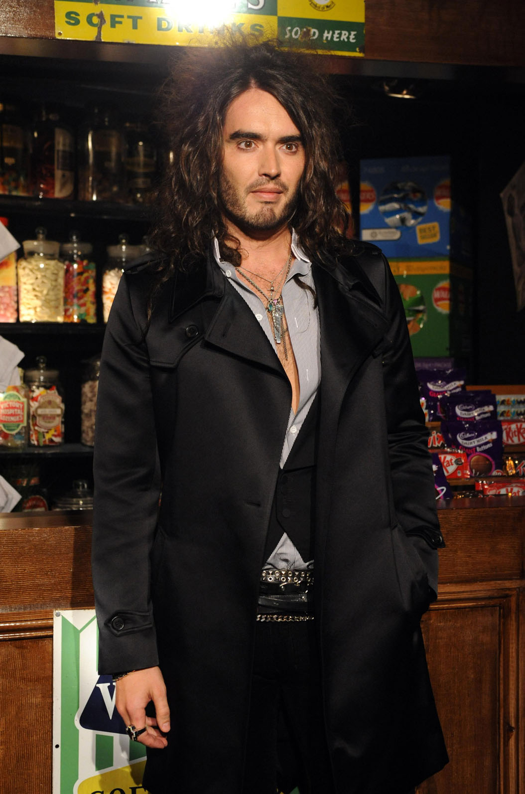 Russell Brand reveals... too much information