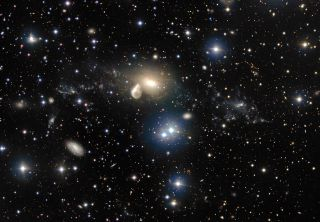 Elliptical Galaxy NGC 5291