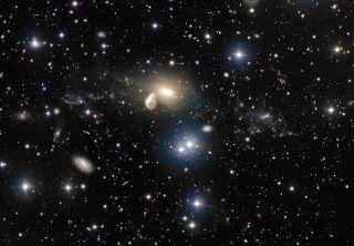 Elliptical Galaxy NGC 5291