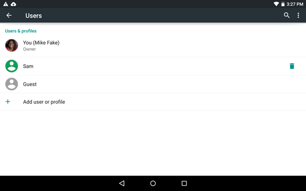 How to Add a New User or Guest Account in Android 5 0 | Tom's Guide