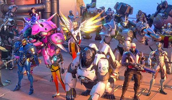 The Overwatch cast gathers