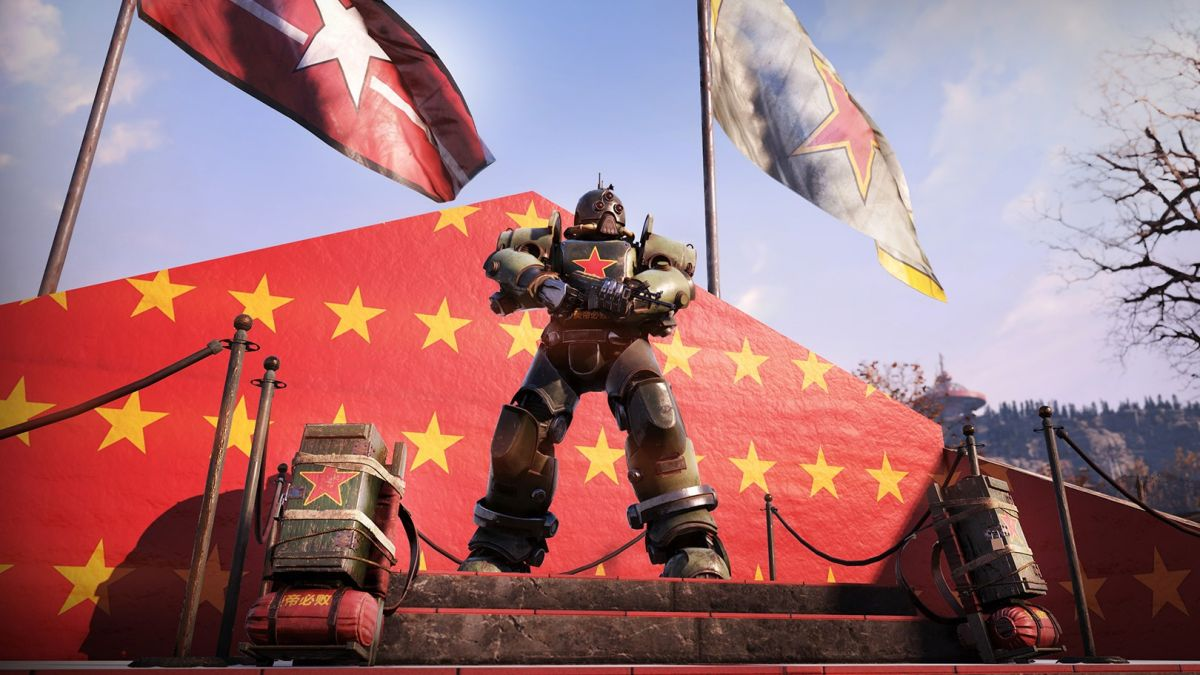 Fallout 76 Communist bundle: Collectron, Power Armor, and more