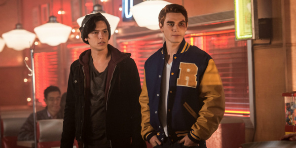 Jughead and Archie in Riverdale on The CW