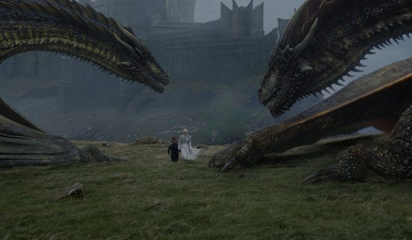 hbo game of thrones death is the enemy dany tyrion dragons rhaegal viserion