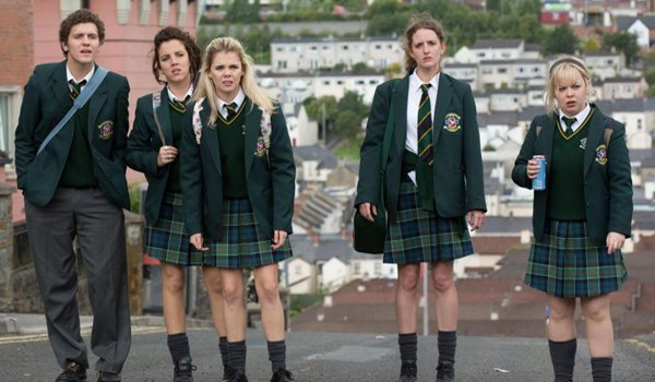Derry Girls cast Netflix