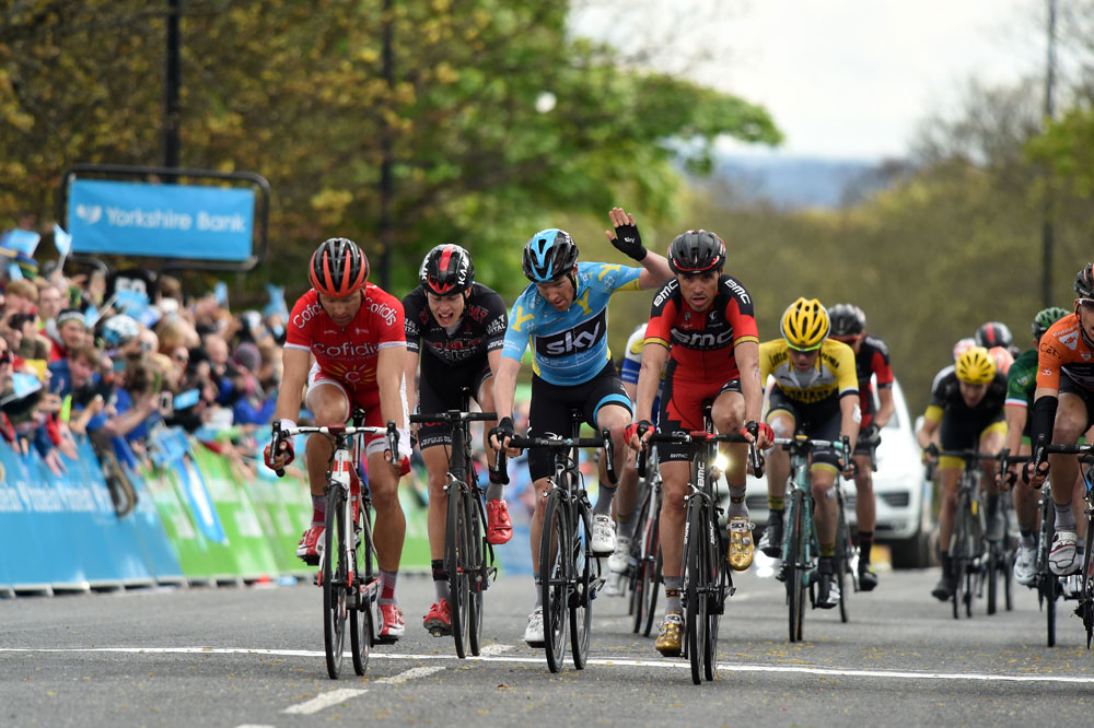 Lars Petter Nordhaug, Tour de Yorkshire stage three