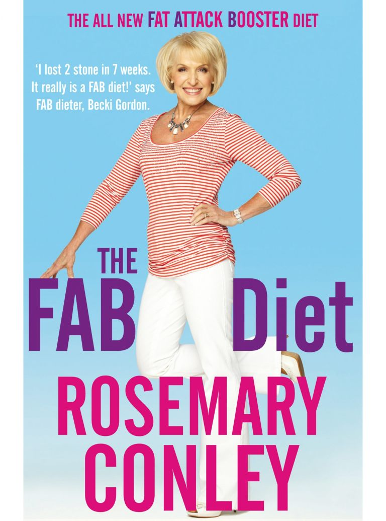 Rosemary Conley The FAB Diet book cover