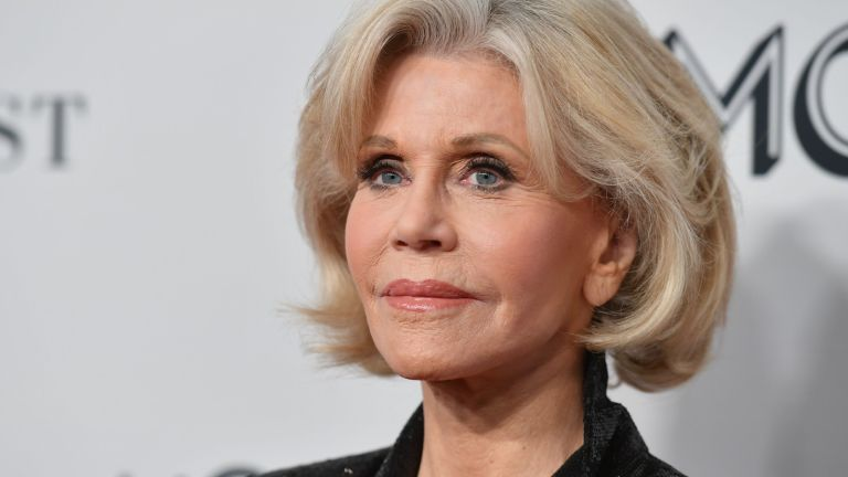 US actress/activist Jane Fonda attends the 2019 Glamour Women Of The Year Awards at Alice Tully Hall, Lincoln Center on November 11, 2019 in New York City