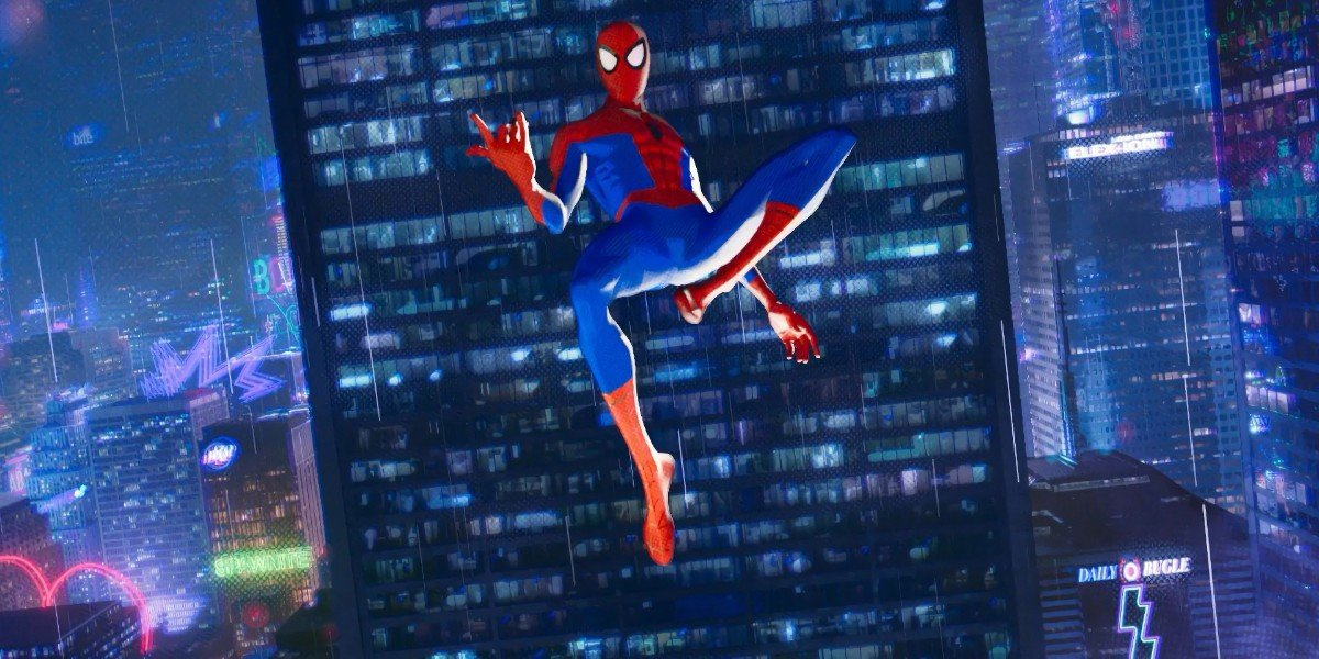 Spider-Man: Into the Spider-Verse Daily Bugle Shot