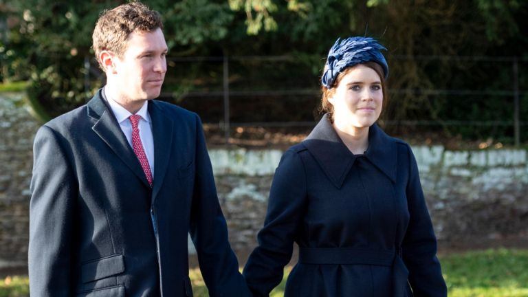 Princess Eugenie and husband Jack