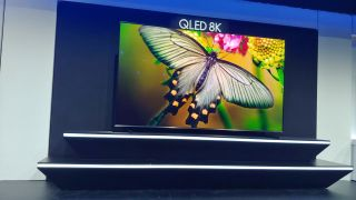 Samsung's 98-inch Q900 QLED 8K TV is more screen than your