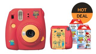 Save 20% on a Toy Story instax Mini camera and film!