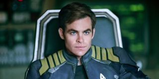 Chris Pine as Kirk in Star Trek Beyond