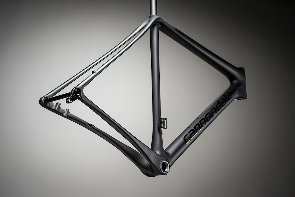 New SuperX frame features Speed Save and offset drivetrain