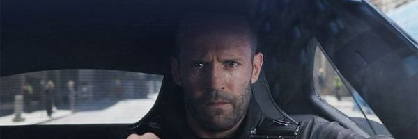 Jason Statham in the Fate of the Furious