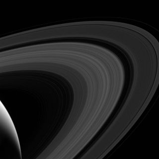 Cassini View of Saturn's Rings