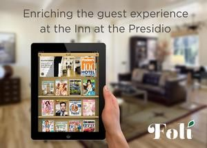San Francisco Hotel Adds Digital Magazine Library for iPad