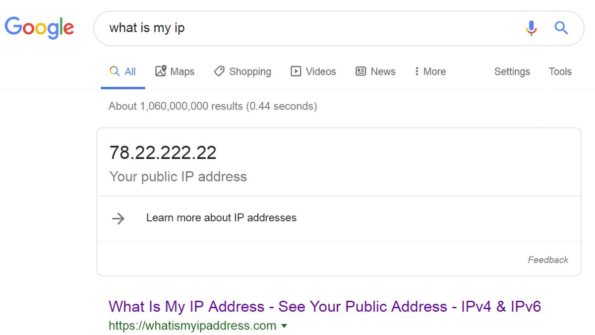 What is my public ipv4 address