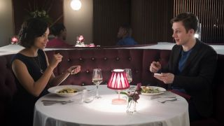 Hang the DJ Black Mirror episode restaurant date