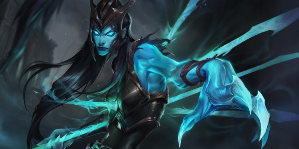 Kalista League Of Legends Minimalist Wallpaper By: League Of Legends: Kalista Is The Ultimate Team Player
