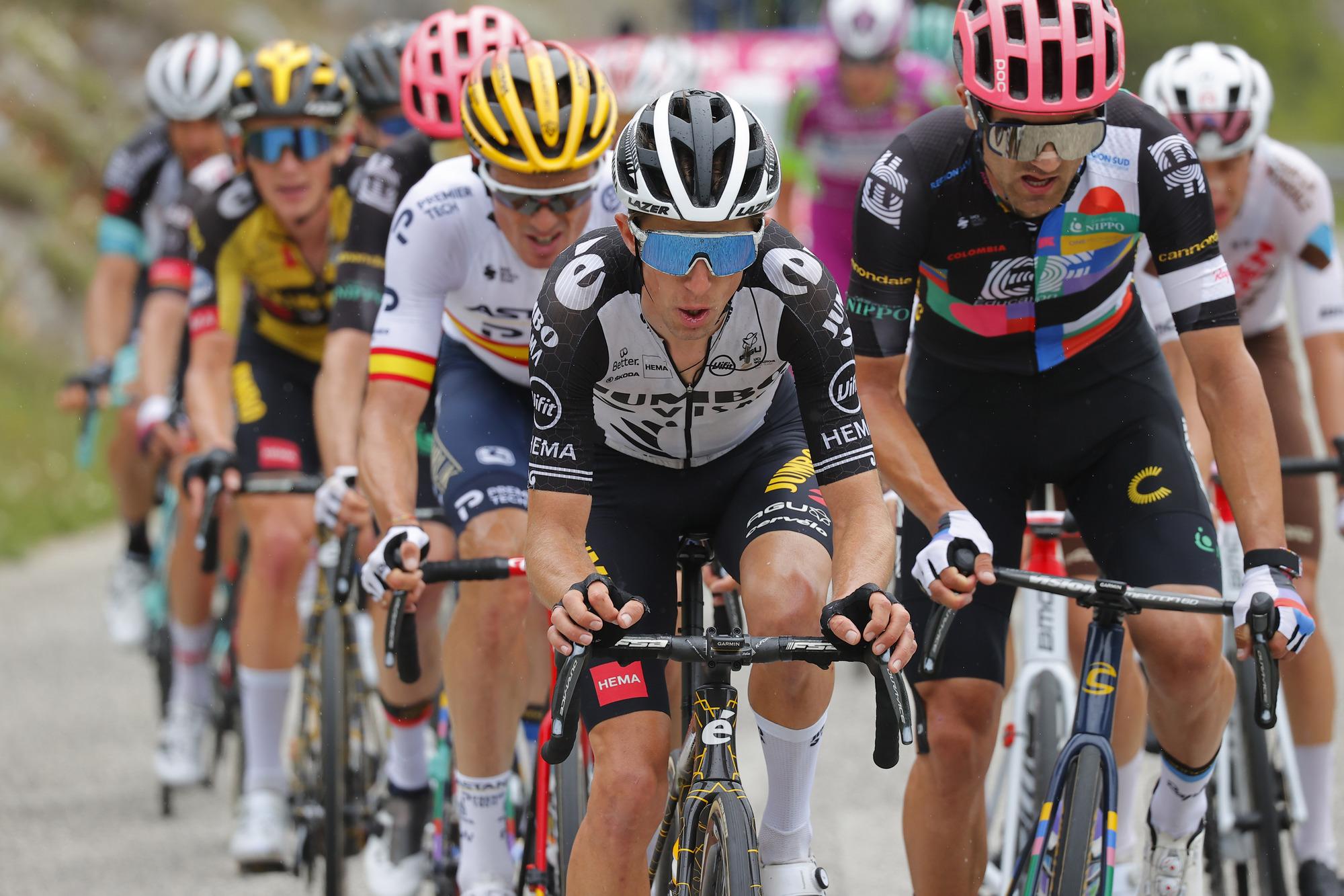 Giro d'Italia 2021 - 104th Edition - 9th stage Castel di Sangro - Campo Felice (Rocca di Cambio) 158 km - 16/05/2021 - George Bennett (NZL - Jumbo - Visma) - photo Luca Bettini/BettiniPhoto©2021