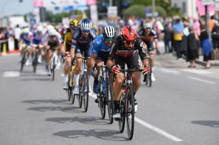 VERONA ITALY MAY 21 Thomas De Gendt of Belgium and Team Lotto Soudal during the 104th Giro dItalia 2021 Stage 13 a 198km stage from Ravenna to Verona girodiitalia Giro UCIworldtour on May 21 2021 in Verona Italy Photo by Tim de WaeleGetty Images