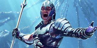 Aquaman's original King Orm costume