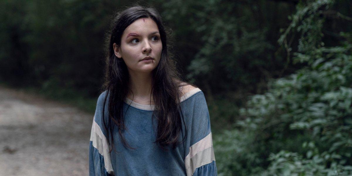 Lydia in The Walking Dead.