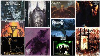 Death-doom albums