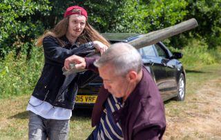 Emmerdale spoilers! Ryan Stocks attacks his rapist dad DI Bails!