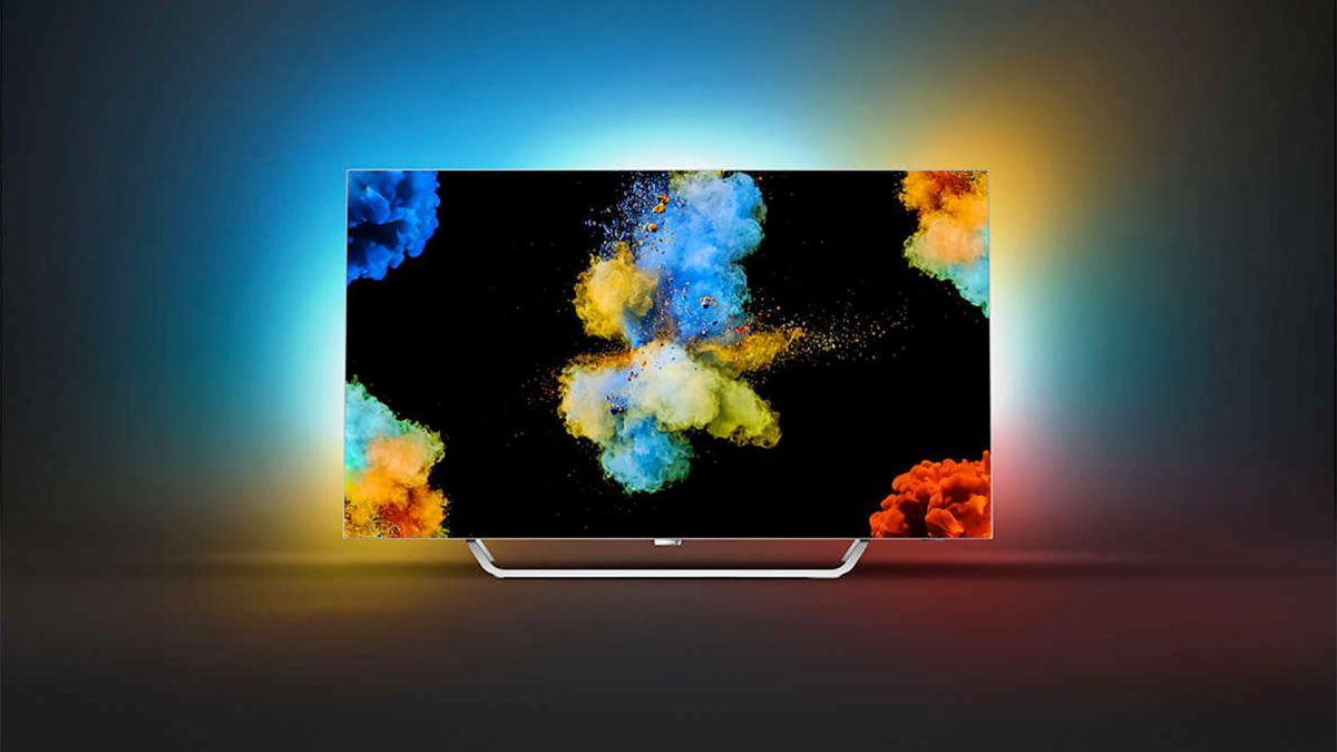 Exhibition of Philips Televisions with Ambilight Low-cost lights turn your home