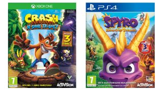 Grab Crash Bandicoot N.Sane Trilogy and Spyro Reignited cheaper today, at $30 / £20