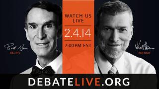Bille Nye debate