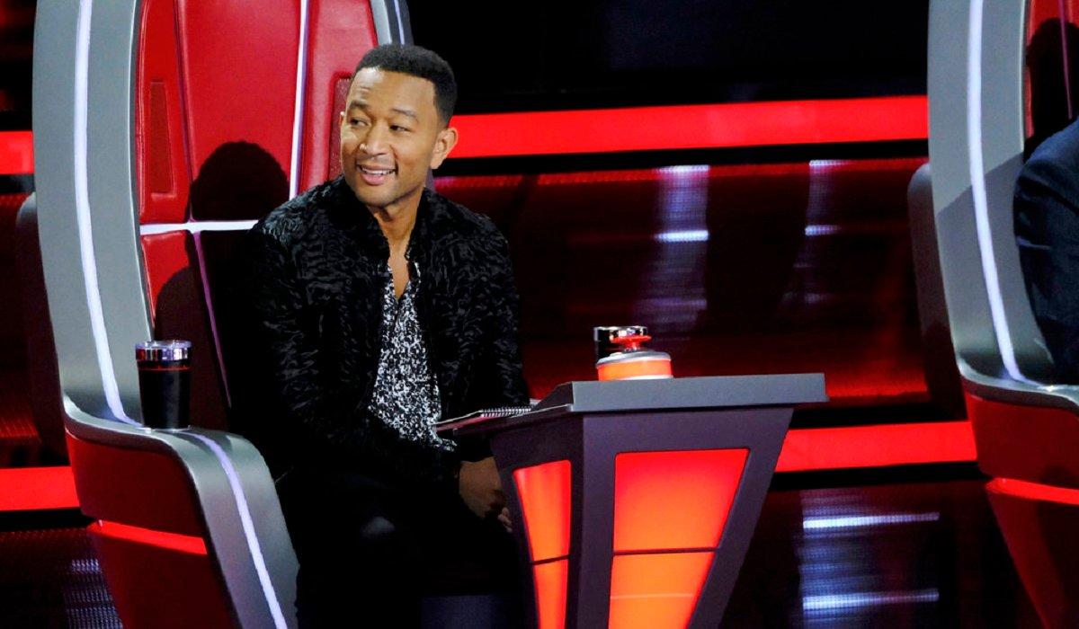 John Legend The Voice NBC