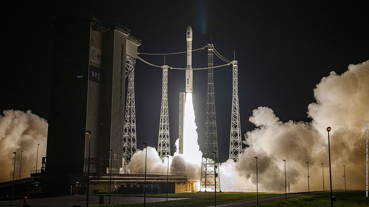 Arianespace to launch Vega rocket on return-to-flight mission tonight. Here's how to watch.