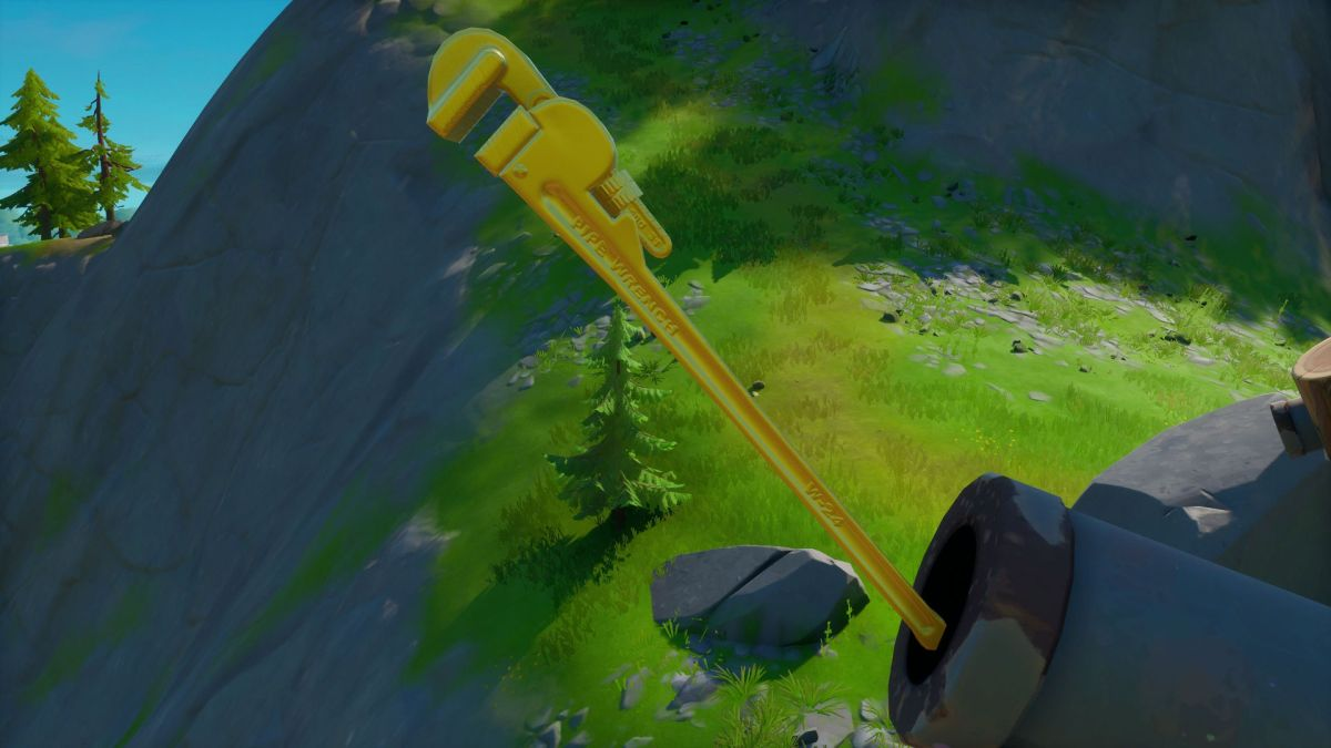Sky Tubes Fortnite Fortnite Golden Pipe Wrench Locations Where To Find All Of Midas Shiny Tools Gamesradar