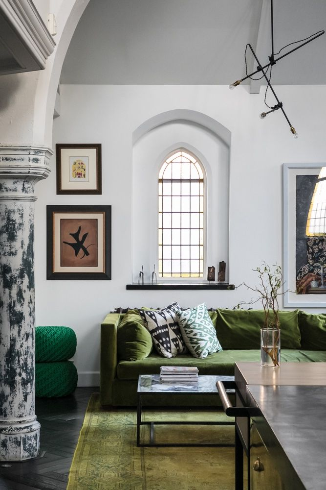 Explore a jaw-dropping converted church in Kensal Green with spectacular interiors