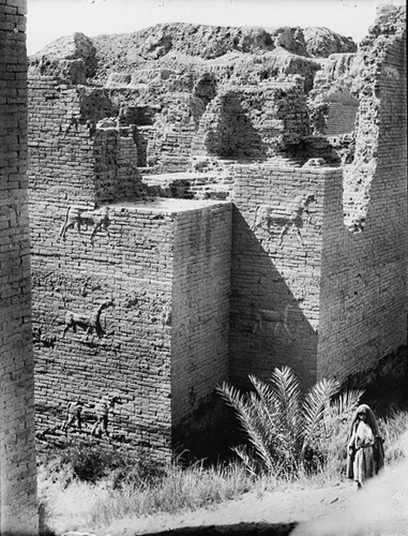 Ishtar Gate Grand Entrance To Babylon Live Science