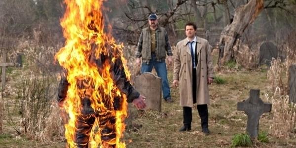 supernatural season 5 finale swan song bobby castiel michael assbutt