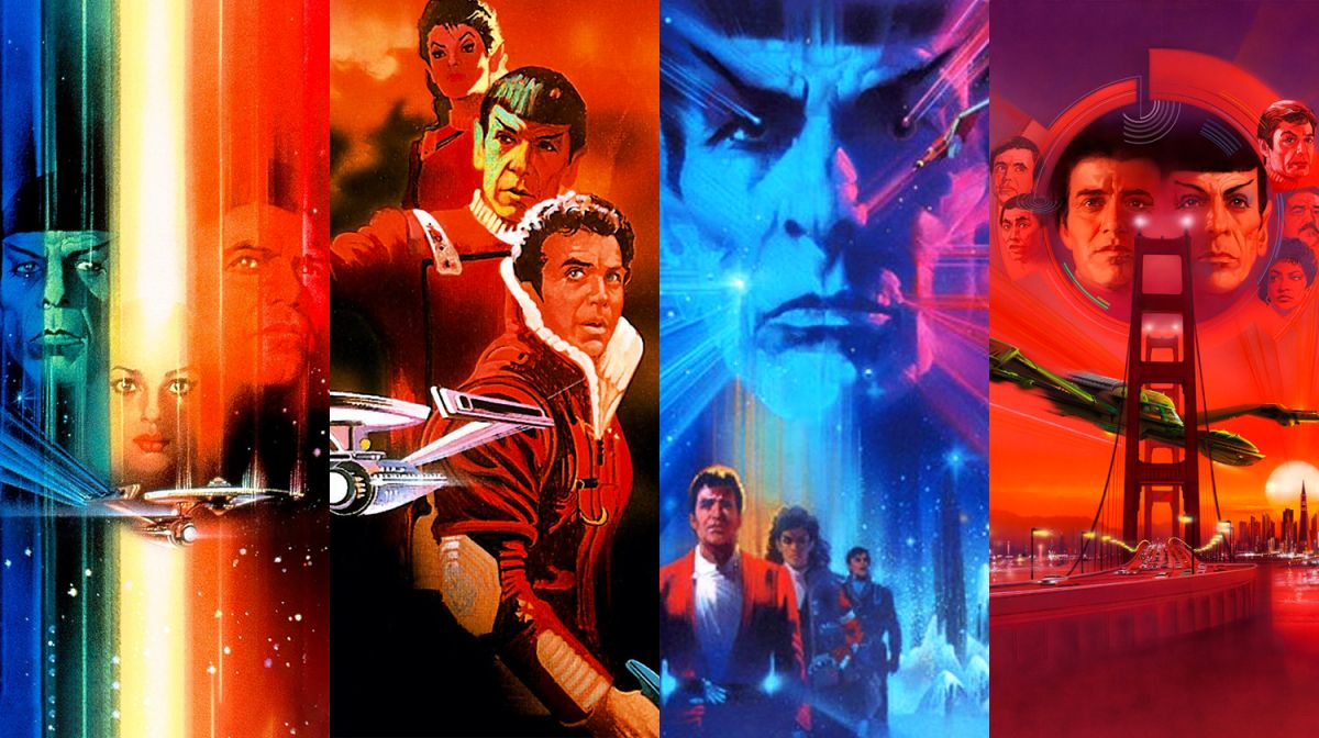 The first four 'Star Trek' films are getting remastered to warp back into stores in 4K UHD