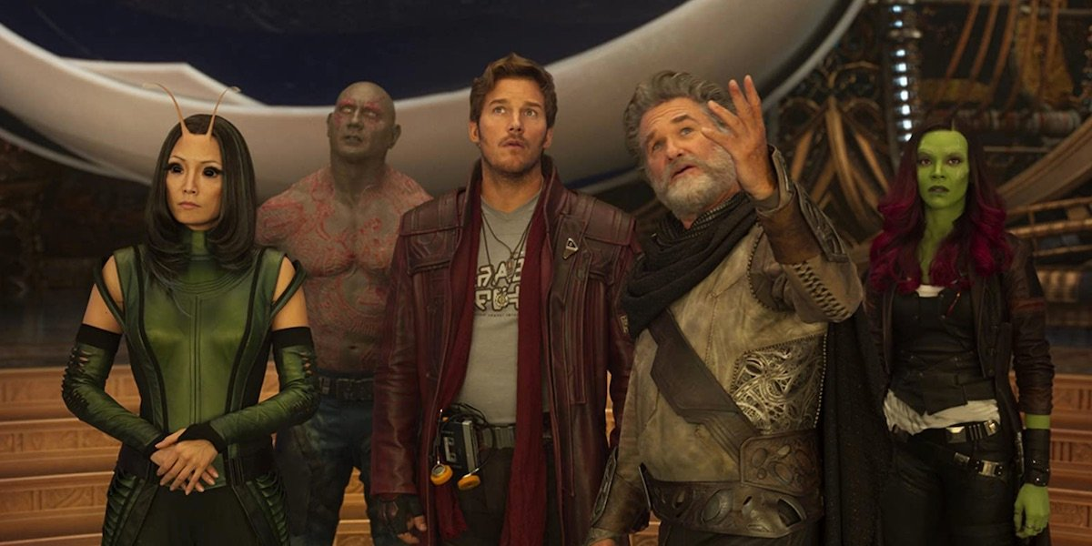 Ego with the Guardians in Vol. 2