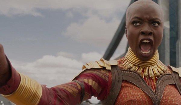 Danai Guirra as Okoye in Black Panther