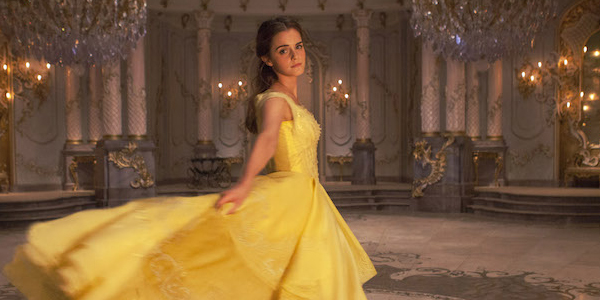 Beauty and the Beast Emma Watson in her yellow gown