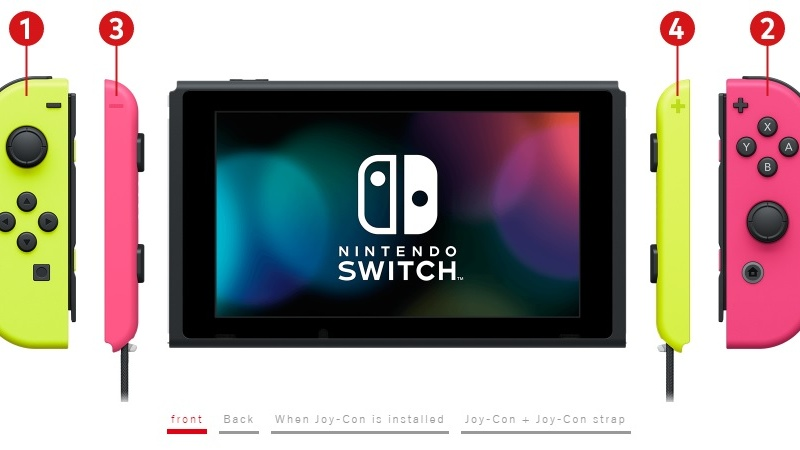 Nintendo is offering customized Switch bundles with mix-and-match